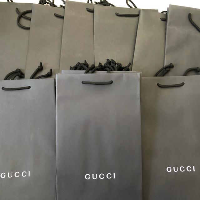 Gucci - GUCCI ショップ袋 ショッパー 20枚セットの通販 by supureme north face prada GUCCI shop
