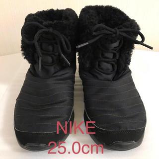 ナイキ(NIKE)のNIKE❤️ボアブーツ 25.0cm(ブーツ)