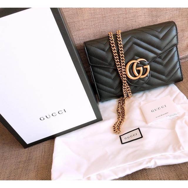 タイメックス - Gucci - GGマーモント キルティング ミニ�ッグ�通販 by **�︎♡�︎**