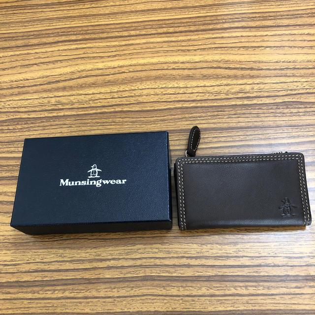 Munsingwear(マンシングウェア)のキーケース兼小銭入れ メンズのファッション小物(キーケース)の商品写真