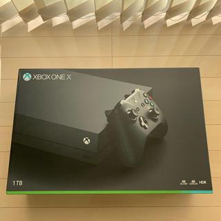 マイクロソフト(Microsoft)の美品 XBOX ONE X(家庭用ゲーム機本体)
