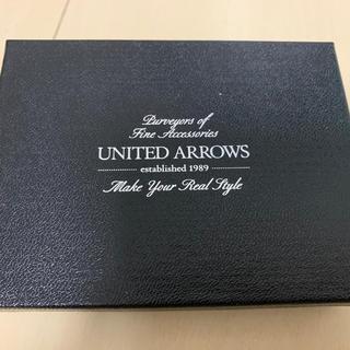 ユナイテッドアローズ(UNITED ARROWS)の新品 ユナイテッドアローズ UNITED ARROWS 名刺入れ(名刺入れ/定期入れ)