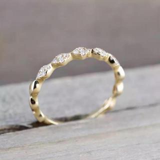 エタニティ モアサナイト ダイヤモンド リング(リング(指輪))