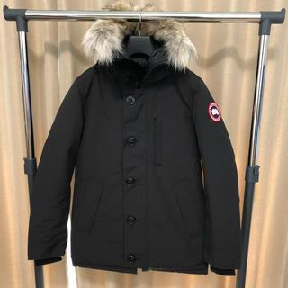 カナダグース(CANADA GOOSE)の新品 極上ファー カナダグース  ジャスパー 国内正規品 黒XS(ダウンジャケット)