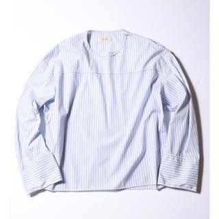 ジエダ(Jieda)のstripe pull over shirt(Tシャツ/カットソー(七分/長袖))