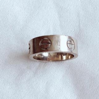 カルティエ(Cartier)のカルティエ ラブリング ホワイトゴールド 6号(リング(指輪))