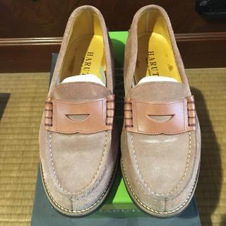 ハルタ(HARUTA)のHARUTA ローファー ブラウン24 1/2 ☆値下げ☆(ローファー/革靴)