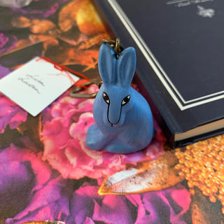 リサラーソン(Lisa Larson)の Lisa Larson リサラーソン 北欧 (ウサギ)キーホルダー (キーホルダー)