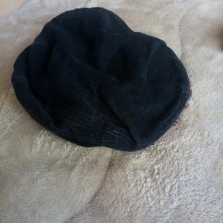 黒のハンチング帽(ハンチング/ベレー帽)
