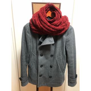 レイジブルー(RAGEBLUE)のRAGEBLUEのPコートと赤スヌードセット(ピーコート)