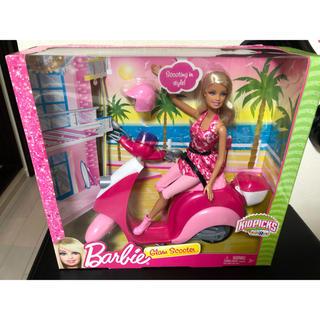 バービー(Barbie)のバービー スクーター(ぬいぐるみ/人形)