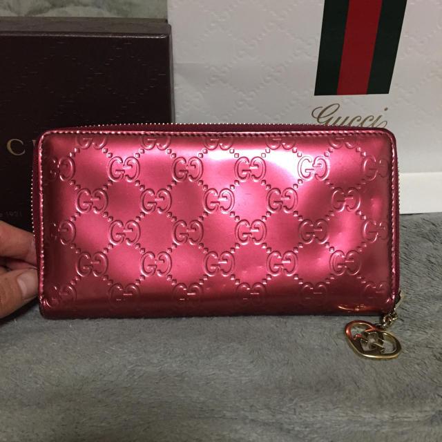 Gucci - 格安 早い者勝ち 確実正規品 GUCCI グッチ 長財布 財布 バッグの通販 by ストロベリー*s shop