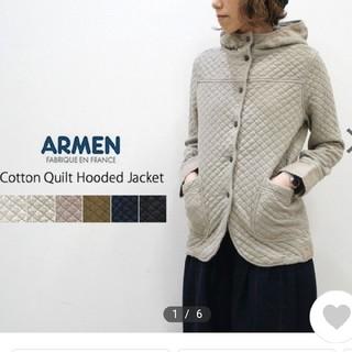 ARMEN - ARMEN アーメン キルティングジャケット