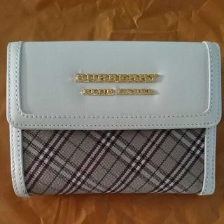 バーバリーブルーレーベル(BURBERRY BLUE LABEL)の未使用品♪ BURBERRY BLUE LABEL 財布(財布)