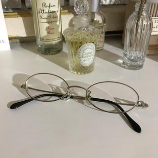アニエスベー(agnes b.)の【もんちゃん様専用】アニエスベー 眼鏡 メガネ シルバーフレーム(サングラス/メガネ)