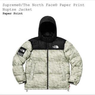 シュプリーム(Supreme)のSupreme / North Face Paper Nuptse Jacket(ダウンジャケット)