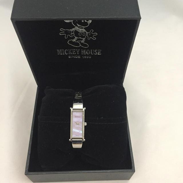 アクセサリー 台紙 - Gucci - グッチ レディース腕時計 1500L ピンクシェルの通販 by ラクマ's shop