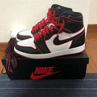ナイキ(NIKE)のair Jordan 1 heritage blood line(スニーカー)