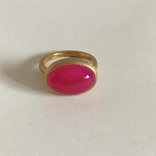 fruitsjolie パープルピンクカルセドニーリング(リング(指輪))