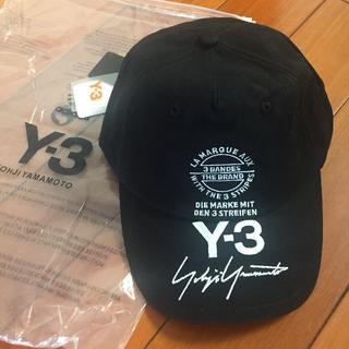 ワイスリー(Y-3)のY-3 サインロゴ キャップ 帽子(キャップ)