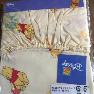 Disney - ベビー敷布団用 くまのプーさん シーツ 60×90