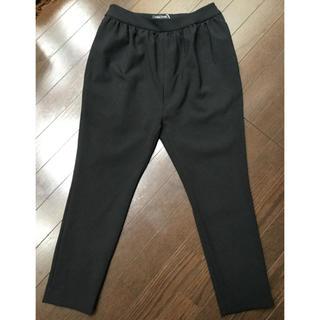 バーニーズニューヨーク(BARNEYS NEW YORK)のYoko Chan ヨーコチャン  ギャザー パンツ 38 ブラック 未使用(その他)