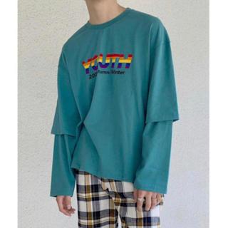 サンシー(SUNSEA)のDAIRIKU 別注 レイヤードシャツ(Tシャツ/カットソー(七分/長袖))