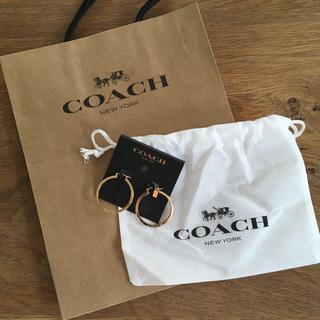 コーチ(COACH)のCOACH 新品 フープピアス(ピアス(両耳用))