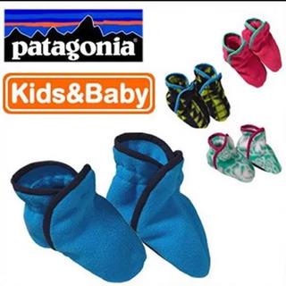 パタゴニア(patagonia)のpatagonia パタゴニア ベビー・シンチラ・ブーティ(靴下/タイツ)