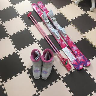 スキー三点セット 126センチ(板)