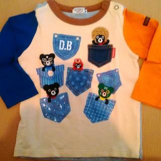 ダブルビー(DOUBLE.B)のダブルB ポケット いっぱい ロンT 長袖(Tシャツ/カットソー)