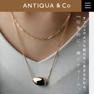 アンティカ(antiqua)のantiqua アンティカ 2連ネックス(ネックレス)