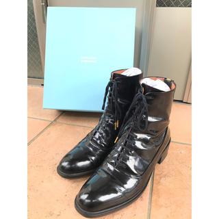 オゥバニスター(AU BANNISTER)の【AU BANNISTER】ショートブーツ 37(24.0cm)(ブーツ)