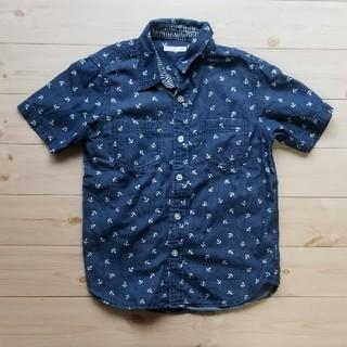 ジーユー(GU)の半袖シャツ(ブラウス)