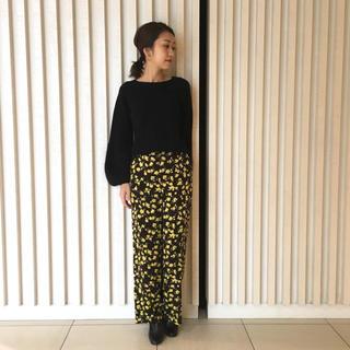 IENA SLOBE - 美品☆ガリャルダガランテ  小花柄パンツ☆ ワイドパンツ ガウチョパンツ