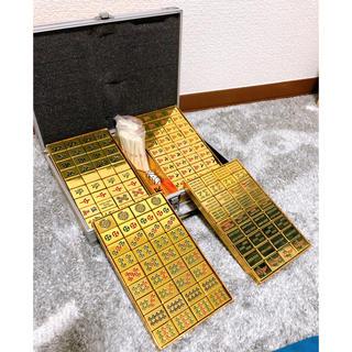 金の麻雀牌 マージャン 牌(麻雀)