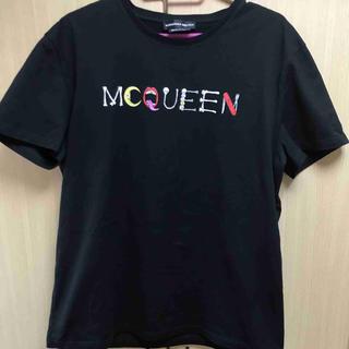 アレキサンダーマックイーン(Alexander McQueen)の正規 18SS アレキサンダーマックイーン スカル  ロゴ Tシャツ(Tシャツ/カットソー(半袖/袖なし))