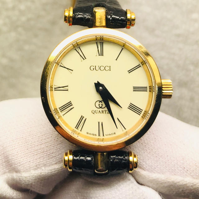 louis vuitton ベルト 激安 、 Gucci - 美品 グッチ シェリーライン レディース腕時計の通販 by Y1102's shop