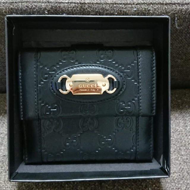 スーパーコピー chanel ヴェルニ - Gucci - GUCCI グッチ シマ Wホック財布の通販 by tumiki's shop