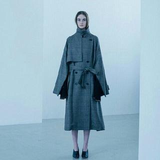 サンシー(SUNSEA)のstein oversized overlap coat(トレンチコート)