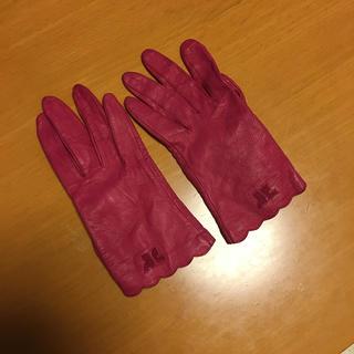 クレージュ(Courreges)のクレージュ レザー手袋(手袋)