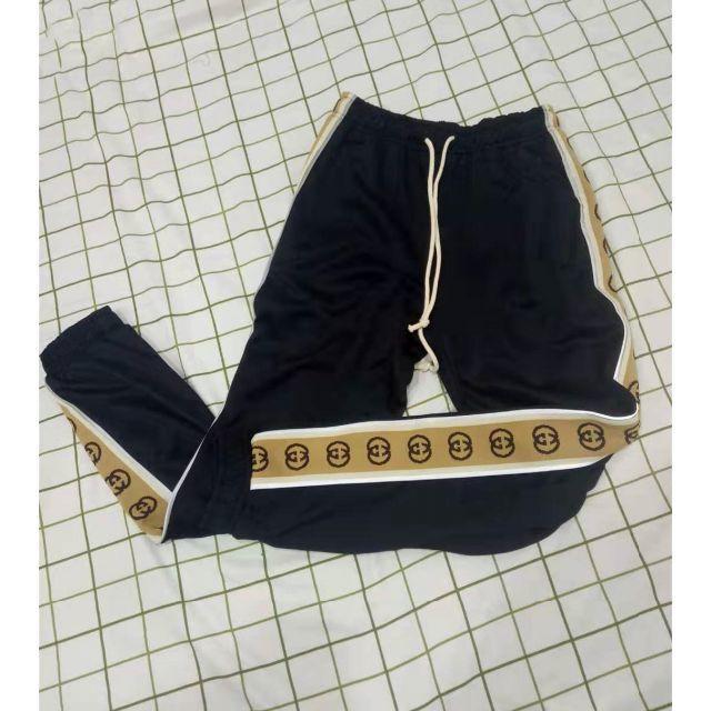 アクセサリー チャーム 、 Gucci - GUCCI オーバーサイズ テクニカルジャージー ジョギングパンツの通販 by なかごめなおき's shop