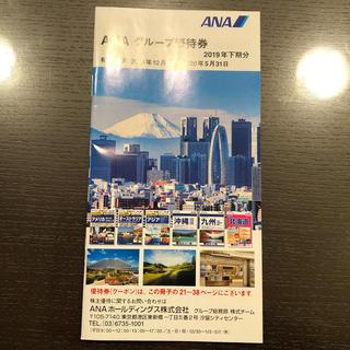 エーエヌエー(ゼンニッポンクウユ)(ANA(全日本空輸))のANA グループ優待券 冊子(その他)