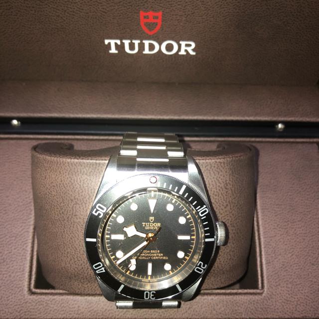 ブルガリ カーボン ゴールド 限定 - Tudor - チューダー ブラックベイ79230Nの通販 by セールs shop