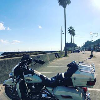 ハーレーダビッドソン(Harley Davidson)の2003年100周年モデルFLHTC(車体)