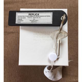 マルタンマルジェラ(Maison Martin Margiela)の新品 メゾンマルジェラ REPLICA キーホルダー キーリング ブラック 黒(リング(指輪))