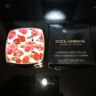 ドルチェアンドガッバーナ(DOLCE&GABBANA)のドルチェ&ガッバーナ ブラッシュオブローズ ルミナスチークカラー 200 2g(チーク)