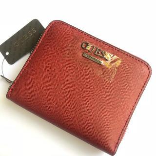 GUESS - ゲス オールラウンドジップ 小銭入れ付き二つ折り財布 ユニセックス 男女兼用