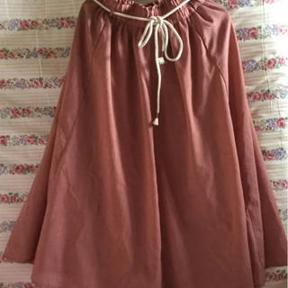 【タグなし未使用】レディース 可愛い ピンク くすみピンク ロングスカート(ロングスカート)