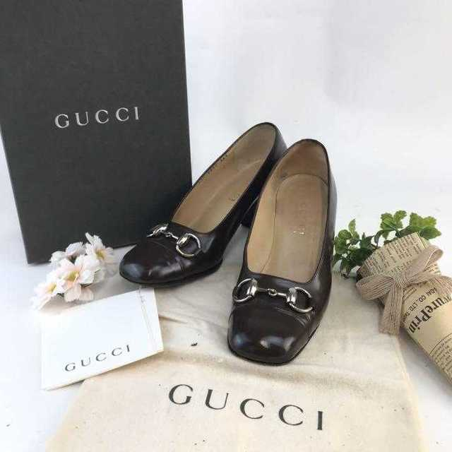 Gucci - ❤️セール❤️ グッチ パンプス シューズ ブラウン レディース GUCCIの通販 by 即購入歓迎shop